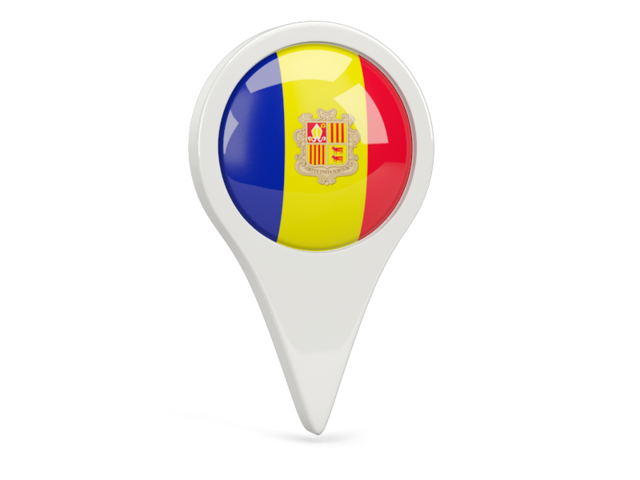 andorra round pin icon 640