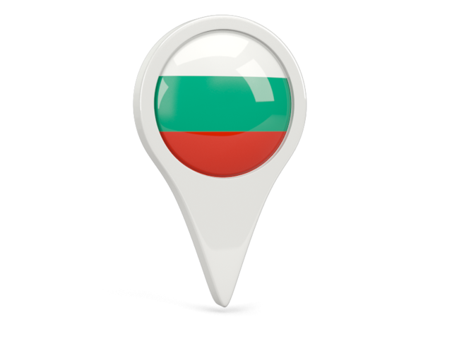 bulgaria round pin icon 640