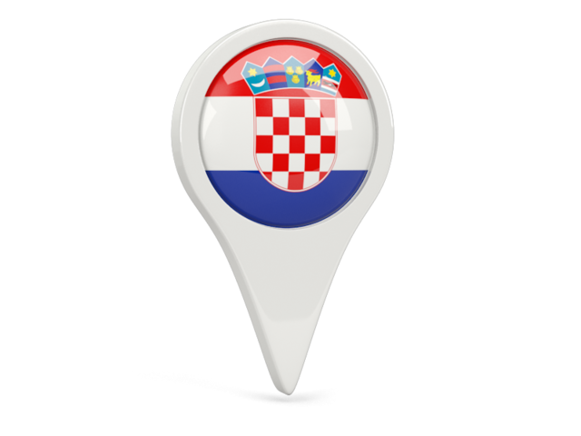 croatia round pin icon 640