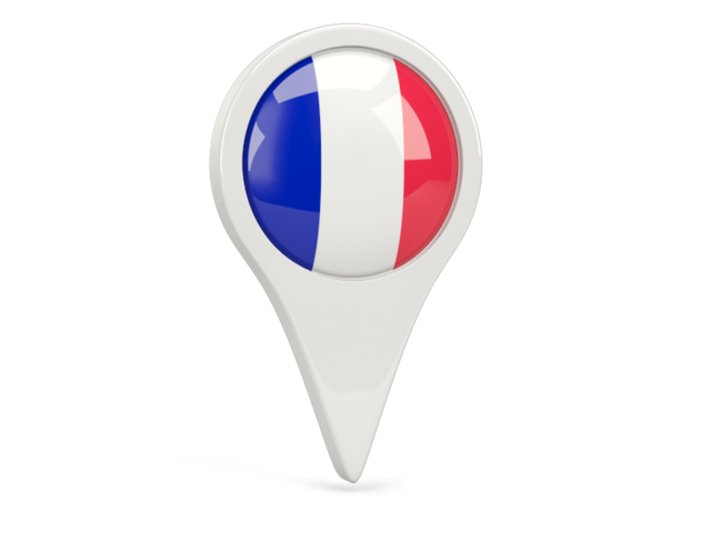 france round pin icon 640