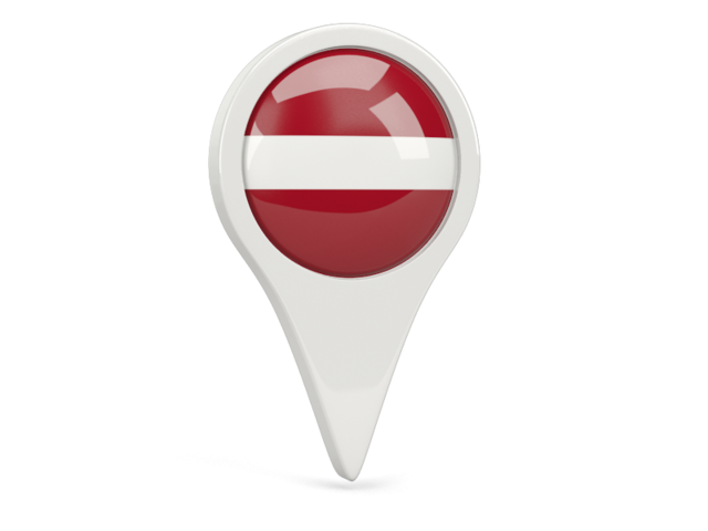 latvia round pin icon 640