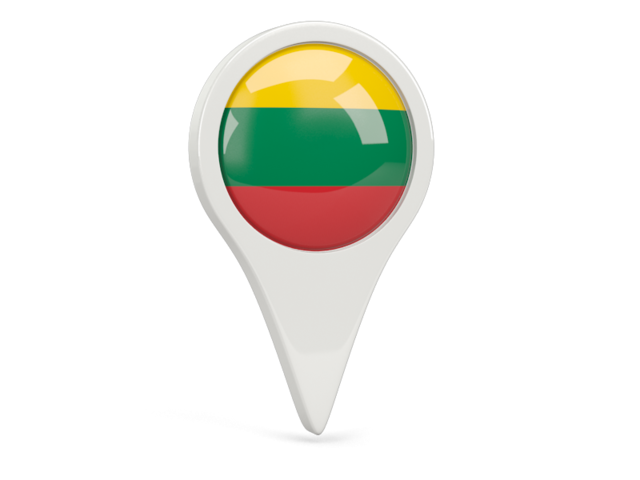 lithuania round pin icon 640