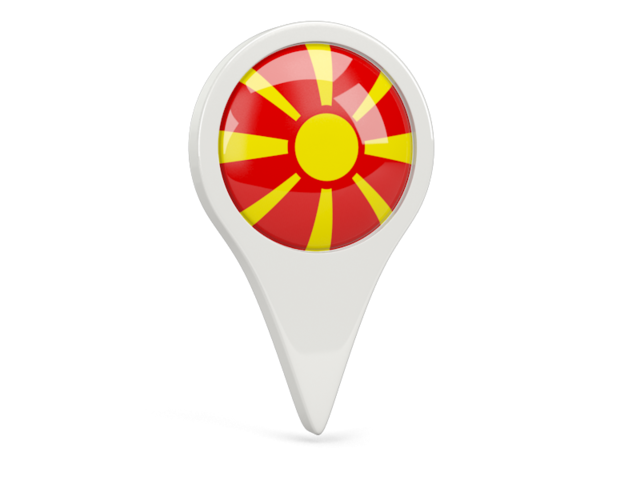 macedonia round pin icon 640