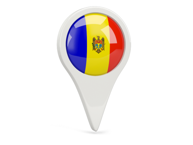 moldova round pin icon 640
