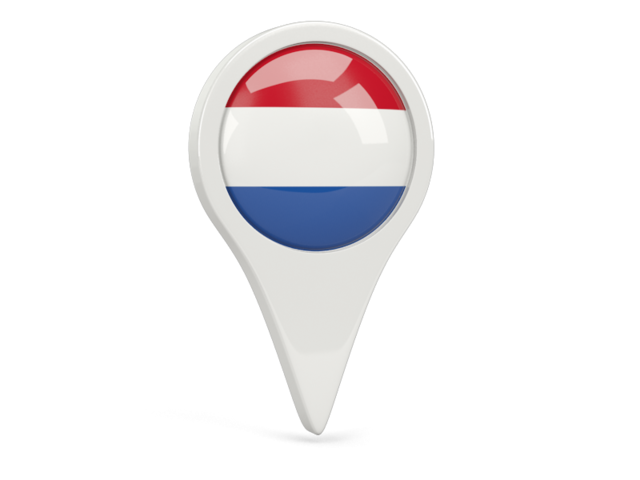 netherlands round pin icon 640
