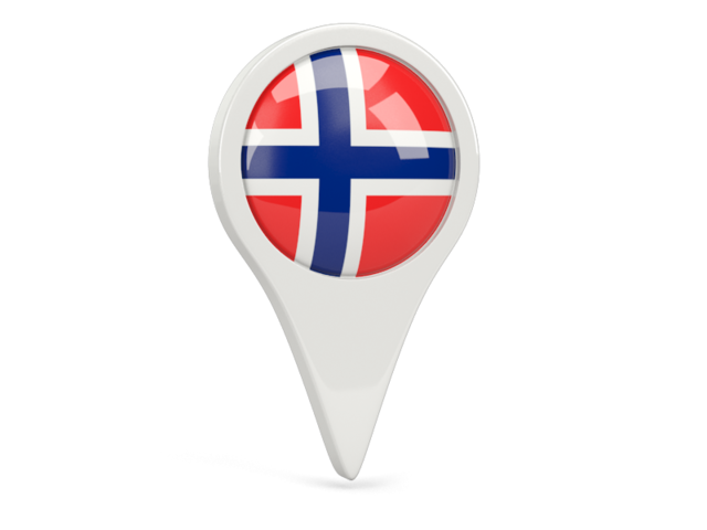 norway round pin icon 640
