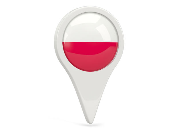 poland round pin icon 640