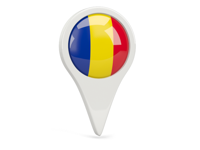 romania round pin icon 640