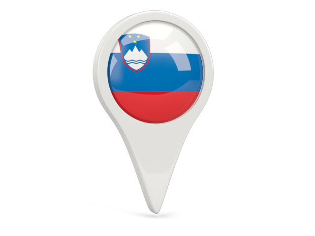 slovenia round pin icon 640