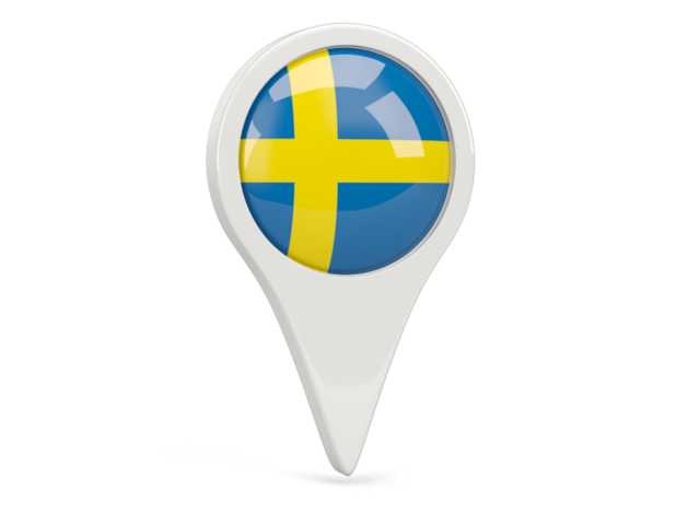 sweden round pin icon 640