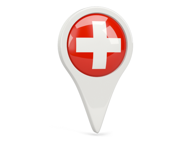 switzerland round pin icon 640