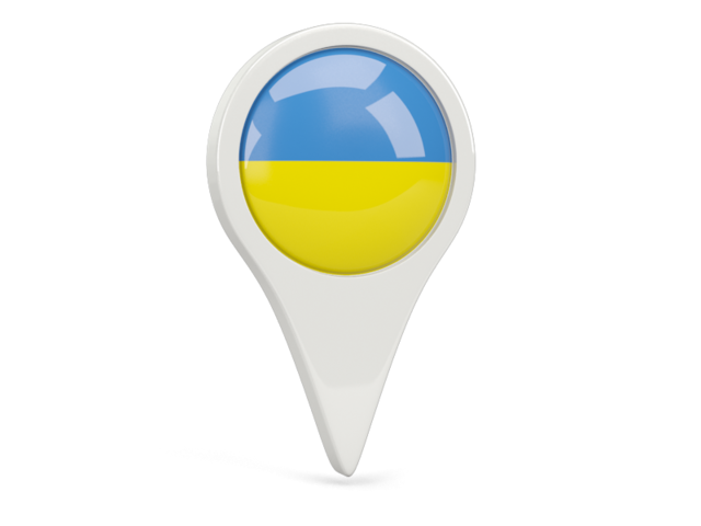 ukraine round pin icon 640
