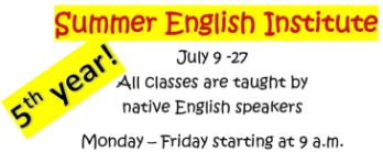 Summer English Institute 2